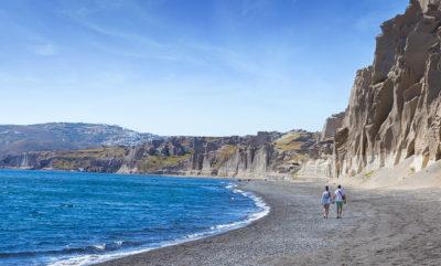 Vilchada beach santorini