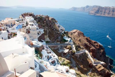 Visit Santorini in Autumn