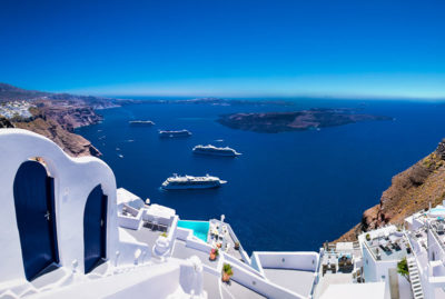 Santorini Car Rental for Cruise Ships