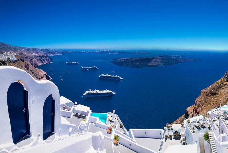 Santorini Car Rental for Cruise Ships