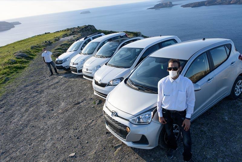 Renta Car Santorini - Safety with Coronavirus